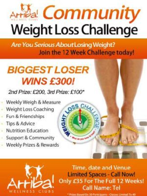 Arriba Weight Loss Challenge